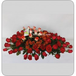 417   Special bouquet in 50 Roses